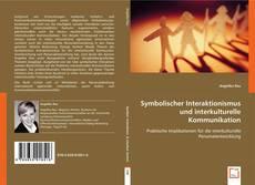 Bookcover of Symbolischer Interaktionismus und interkulturelle Kommunikation