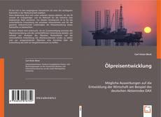 Buchcover von Ölpreisentwicklung