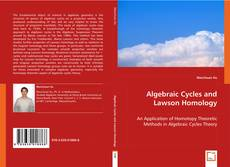 Bookcover of Algebraic Cycles and Lawson Homology
