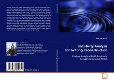 Bookcover of Sensitivity Analysis for Grating Reconstruction