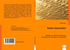 Bookcover of Stolen Generation