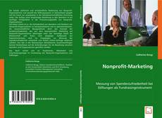 Bookcover of Nonprofit-Marketing