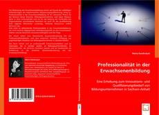 Buchcover von Professionalität in der Erwachsenenbildung