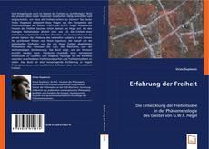 Buchcover von Erfahrung der Freiheit