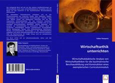 Buchcover von Wirtschaftsethik unterrichten