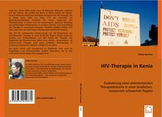 Bookcover of HIV-Therapie in Kenia