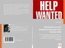 Portada del libro de Konzipierung und Implementierung einer Online-Hilfe