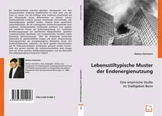 Buchcover von Lebensstiltypische Muster der Endenergienutzung