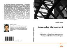 Knowledge Management kitap kapağı