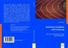 Portada del libro de Zwischen Funktion und Leistung