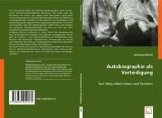 Couverture de Autobiographie als Verteidigung