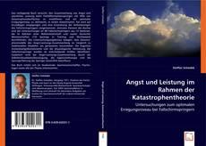 Portada del libro de Angst und Leistung im Rahmen der Katastrophentheorie