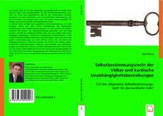 Capa do livro de Selbstbestimmungsrecht der Völker und kurdische Unabhängigkeitsbestrebungen