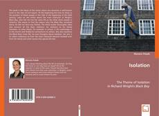 Bookcover of Isolation