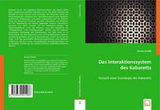 Portada del libro de Das Interaktionssystem des Kabaretts