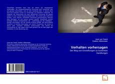 Bookcover of Verhalten vorhersagen