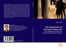 Buchcover von The Importance of the False Claims Act