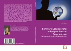 Copertina di Software-Lokalisierung mit Open Source-Programmen
