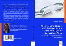 The State, Development and the Role of Local Economic Systems in Southern Africa的封面