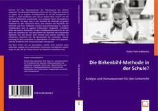 Capa do livro de Die Birkenbihl-Methode in der Schule?