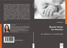 Bookcover of Blonde Kinder für Himmler