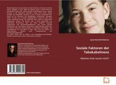 Bookcover of Soziale Faktoren der Tabakabstinenz