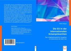 Portada del libro de Die EU in der internationalen Krisenprävention