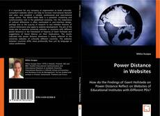 Copertina di Power Distance in Websites