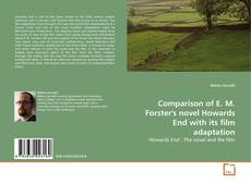 Capa do livro de Comparison of E. M. Forster's novel Howards End with its film adaptation