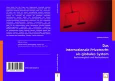 Bookcover of Das internationale Privatrecht als globales System