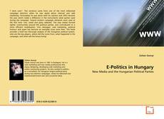 Capa do livro de E-Politics in Hungary