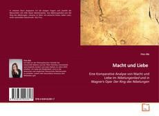Portada del libro de Macht und Liebe