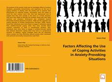 Bookcover of Factors Affecting the Use of Coping Activities in Anxiety-Provoking Situations