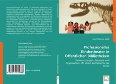 Copertina di Professionelles Kindertheater in Öffentlichen Bibliotheken