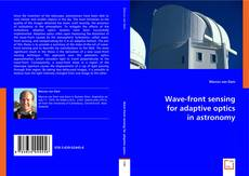 Bookcover of Wave-front sensing for adaptive optics in astronomy
