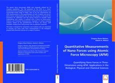 Обложка Quantitative Measurements of Nano Forces using Atomic Force Microscopy (AFM)