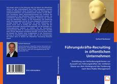 Buchcover von Führungskräfte-Recruiting in öffentlichen Unternehmen