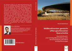 Portada del libro de Wölbkrafttorsion gemischt offen-geschlossener Querschnitte