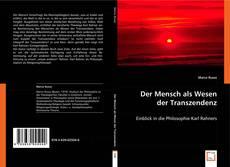 Bookcover of Der Mensch als Wesen der Transzendenz