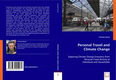 Couverture de Personal Travel and Climate Change