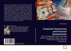 Couverture de Corporate Governance and Financial Restatements
