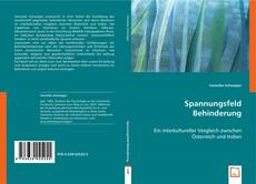 Bookcover of Spannungsfeld Behinderung