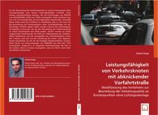 Buchcover von Leistungsfähigkeit von Verkehrsknoten mit abknickender Vorfahrtstraße