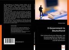 Capa do livro de E-Government in Deutschland