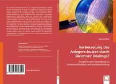 Bookcover of Verbesserung des Anlegerschutzes durch Directors` Dealings?