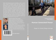 Bookcover of Human Generated Power