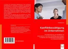 Buchcover von Konfliktbewältigung im Unternehmen