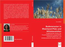Bookcover of Bodenerosion in Rheinland-Pfalz und Mittelanatolien