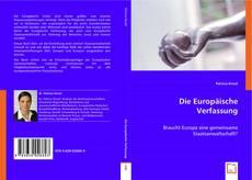 Capa do livro de Die Europäische Verfassung