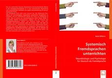 Portada del libro de Systemisch Fremdsprachen unterrichten